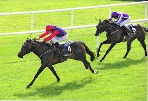 Romanised wins the Gr.1 Prix Jacques Le Marois