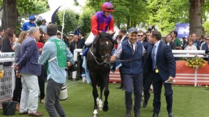 Romanised wins the Gr.1 Prix Jacques Le Marois