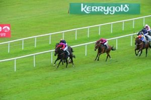 Romanised wins the Paddy Power Minstrel Stakes Gr. 2